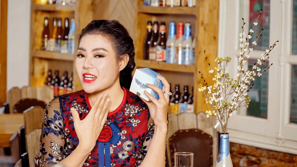diễn viên Thanh Hương dùng kem Dakami