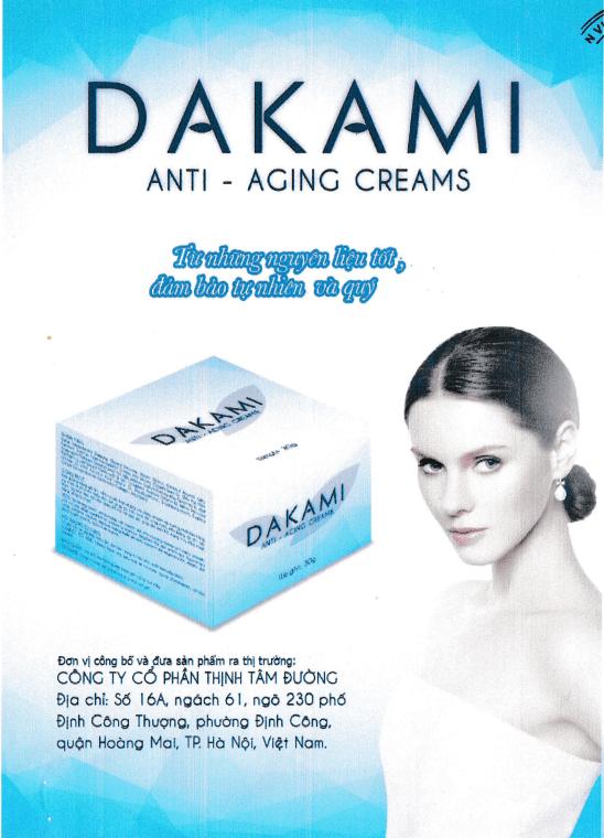 nguồn gốc - xuất xứ kem dakami