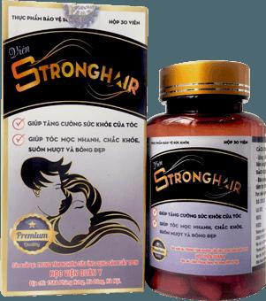 strong hair giúp đen tóc