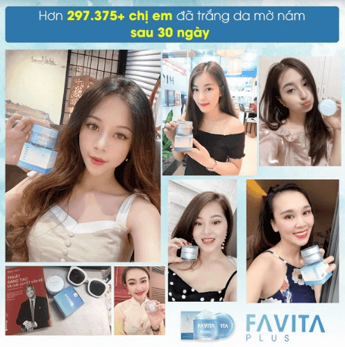 favita plus được nhiều chị em tin dùng và review tốt