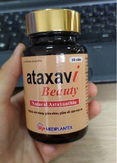 ataxavi beauty trị nám da