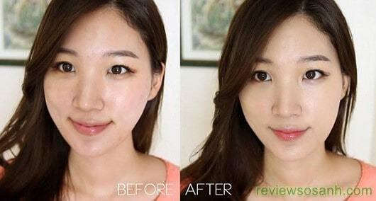 kết quả sau khi sử dụng viên sủi trắng da neuglow c