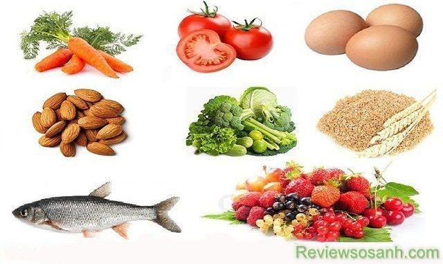 Bổ sung các loại thực phẩm tốt cho sức khỏe làn da