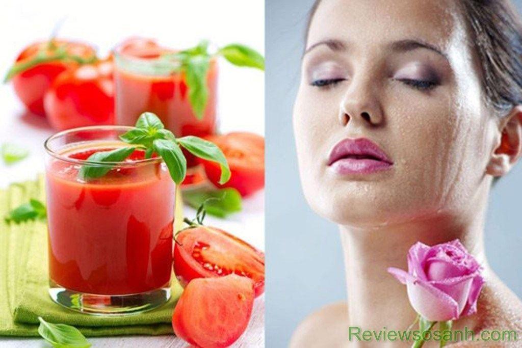 Cà chua là giải pháp giảm quầng thâm hiệu quả