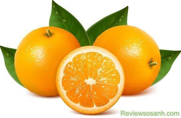 Cam là nguồn cung cấp lượng vitamin lớn