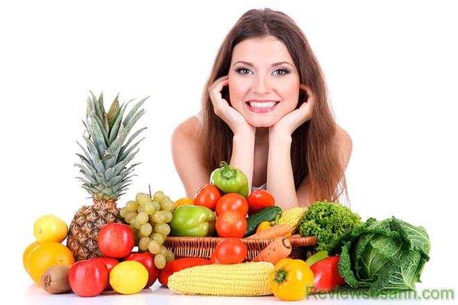 Chế độ dinh dưỡng khoa học nuôi dưỡng da từ sâu bên trong