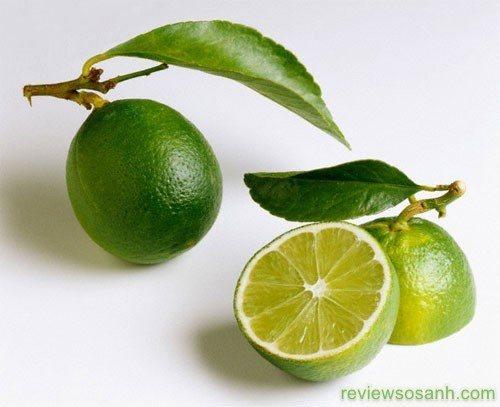 Chanh bổ sung vitamin C, làm sáng da, tẩy tế bào chết
