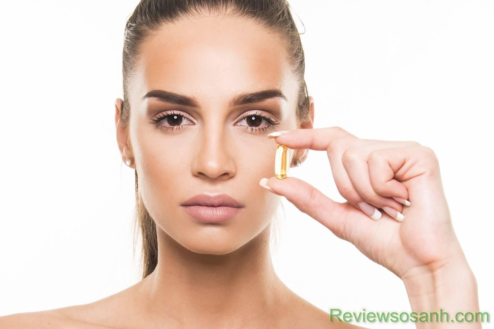 Collagen dạng viên dễ hấp thụ và tiết kiệm thời gian