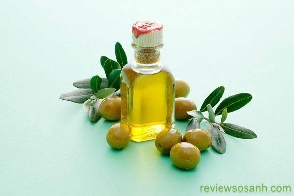 Dưỡng ẩm da bằng dầu ô liu