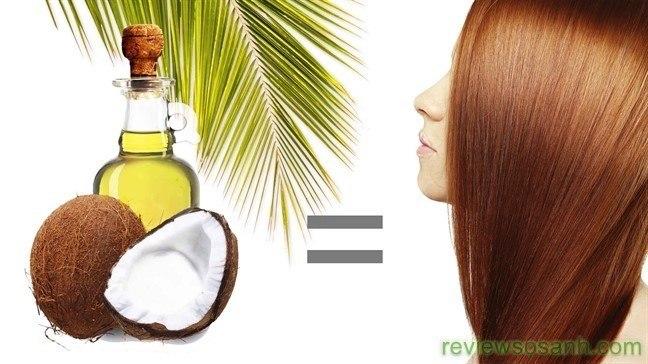 Dầu dừa là giải pháp hữu hiệu cho mái tóc dài mượt của bạn
