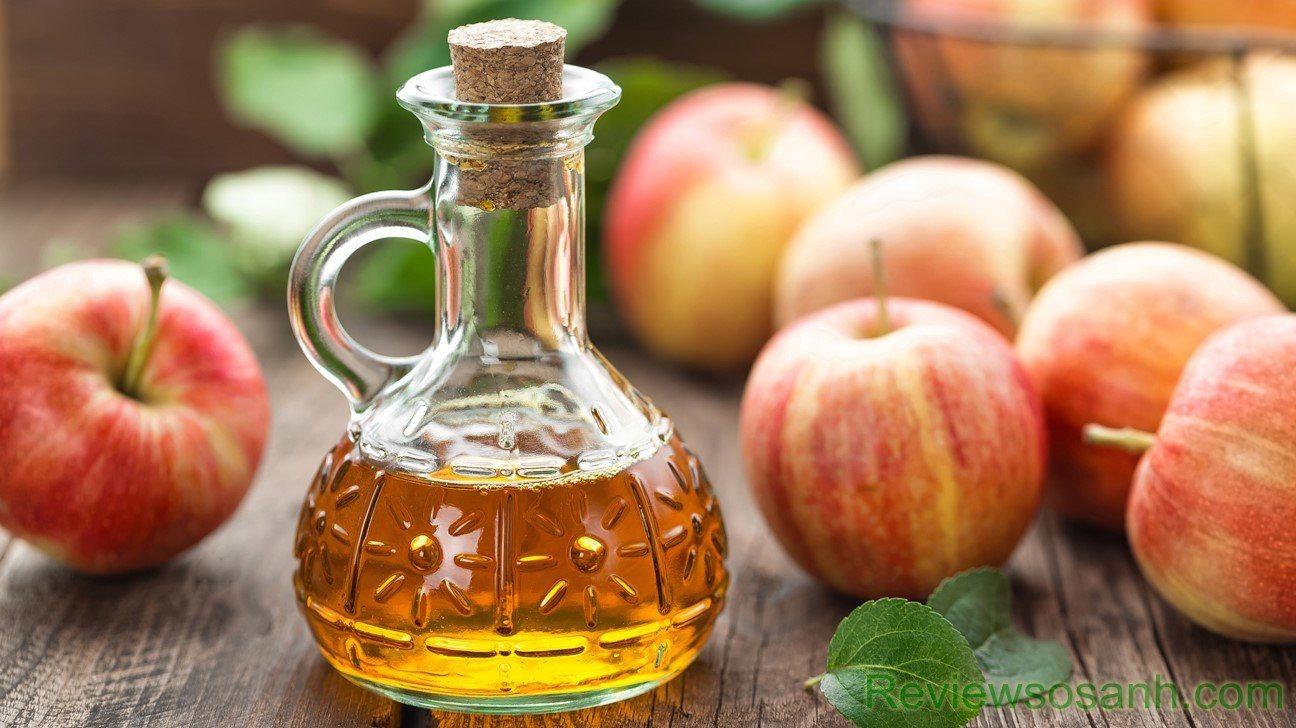 Giấm táo là cách trị mụn cóc hiệu quả