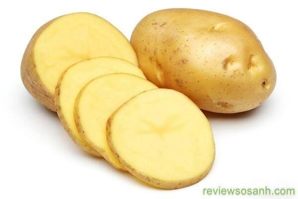 Làm đẹp da mặt từ khoai tây
