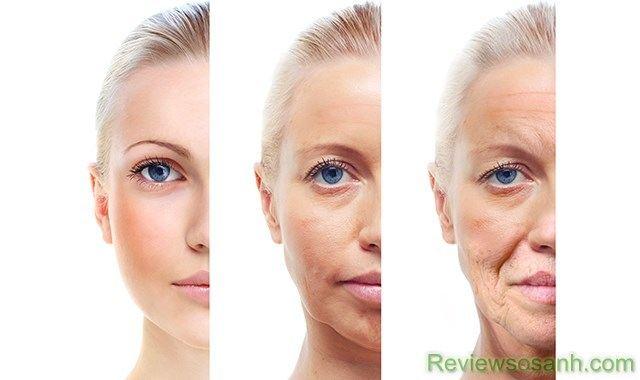 Lão hóa da và cách xóa nếp nhăn khóe miệng