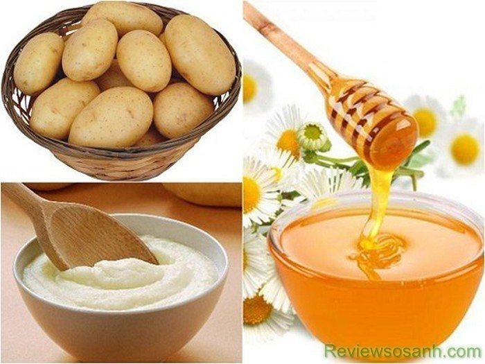 Mặt nạ khoai tây và mật ong, dễ làm, giá rẻ