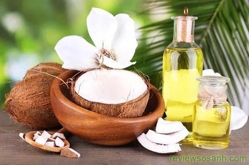 cách chống rụng tóc bằng tinh dầu dừa