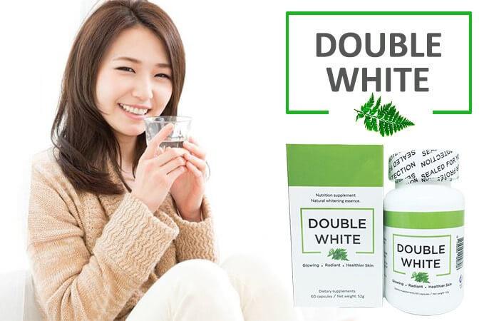 viên uống trắng da double white