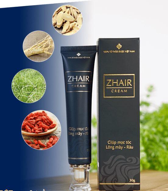 kem trị rụng tóc Zhair Cream
