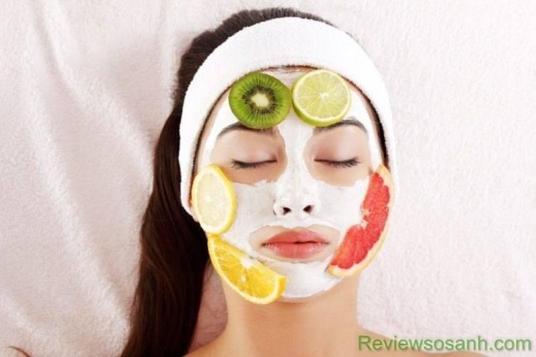 Đắp mặt nạ cung cấp các loại Vitamin cho da