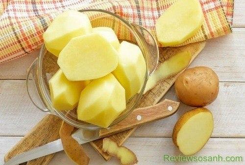 Cách trị tàn nhang bằng khoai tây cho hiệu quả cao