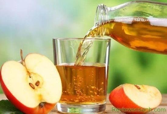Dấm táo có tác dụng loại bỏ mụn nhanh và hiệu quả