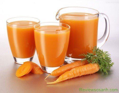 Sử dụng cà rốt vừa trị tàn nhang vừa bổ sung vitamin cho da chắc khỏe