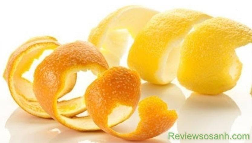 Vỏ cam có tác dụng trị mụn hiệu quả