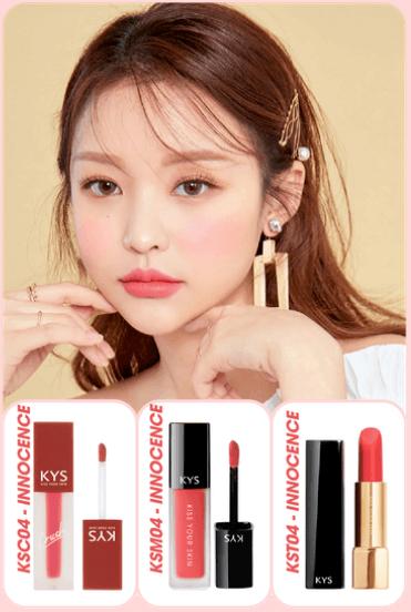 chocolate lipstick innocence - hồng cam