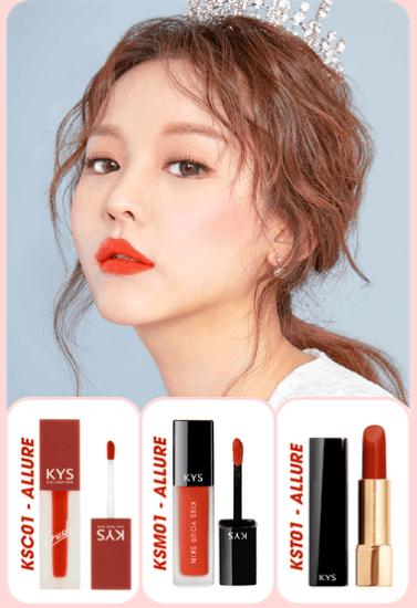 kys chocolate lipstick allure - đỏ cam