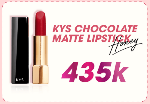 kys chocolate matte lipstick Honey