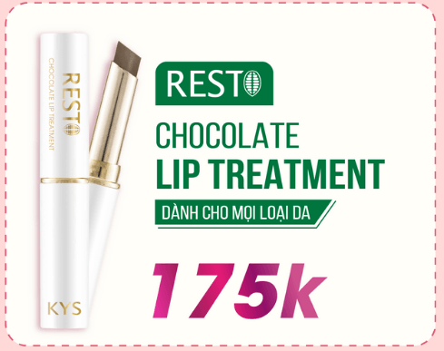 rest chocolate lip treatment