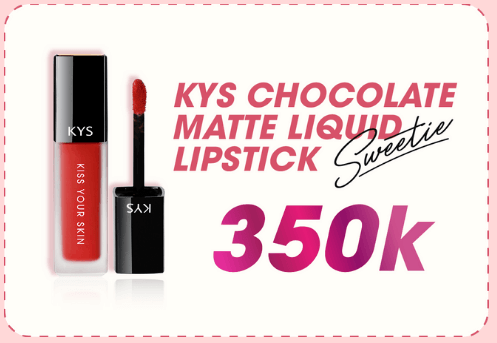 son kys chocolate matte liquid 335k sweetie