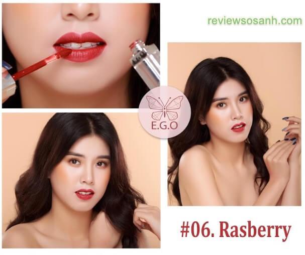 6 rasberry