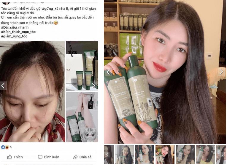 khách hàng tin tưởng sử dụng dầu gội phục hồi tóc weilaiya