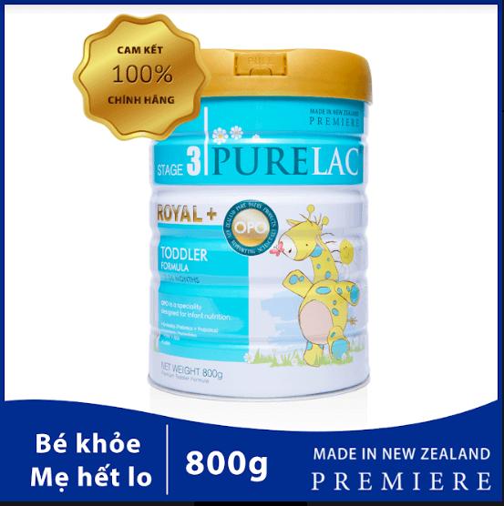 purelac cho trẻ từ 12-36 tháng