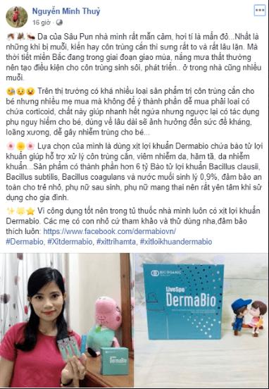 chị thủy review dermabio