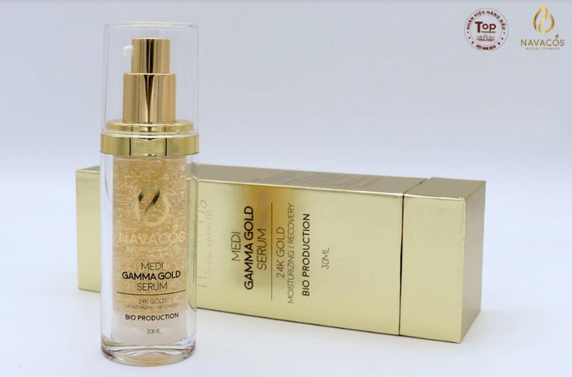 serum vàng 24k navacos