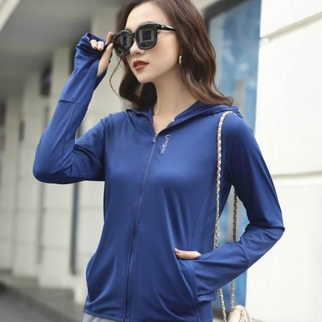 review áo chống nắng Laroma cho nữ