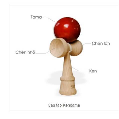 đồ chơi gỗ Kendama Nhật Bản