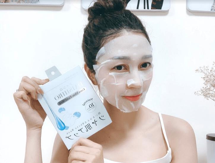mặt nạ dưỡng trắng da daishiro white facial mask giá bao nhiêu