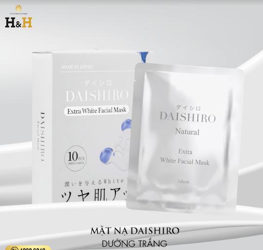 mặt nạ daishiro dưỡng trắng da có tốt không