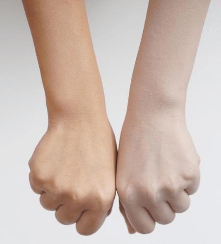 caryophy glass skin nâng tone da sau 4 tuần