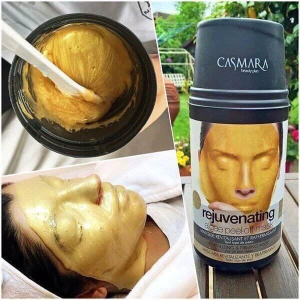 cách dùng mặt nạ Vàng Casmara