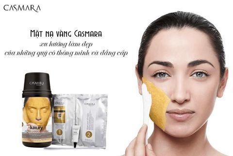 casmara mặt nạ vàng 24K Luxury Mask Kit