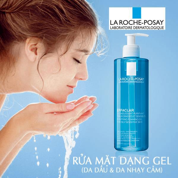 giá review công dụng Gel rửa mặt La Roche Posay Effaclar Foaming