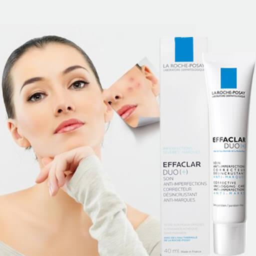 công dụng Kem dưỡng da La Roche Posay Effaclar Duo+