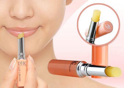 son dưỡng không màu DHC Lip Cream 10g