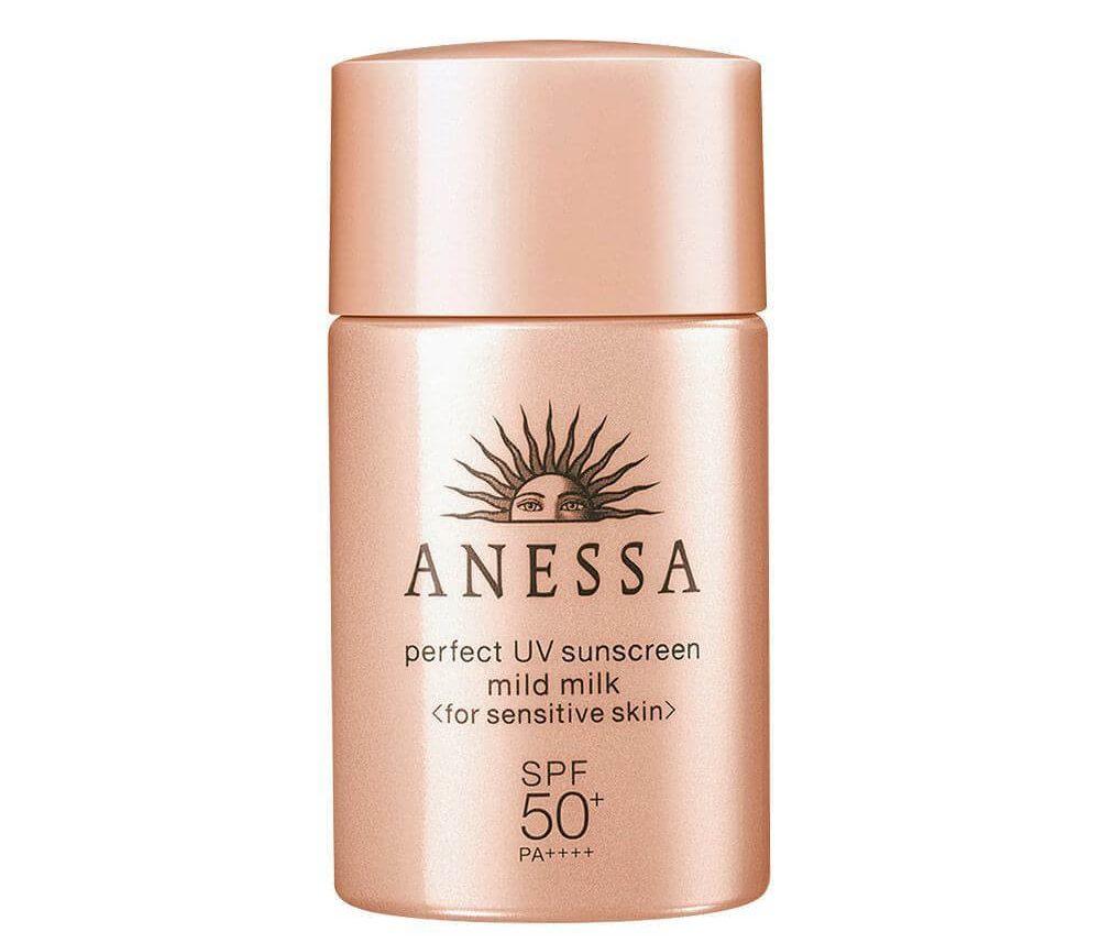 sữa chống nắng dịu nhẹ cho da nhạy cảm Anessa Perfect