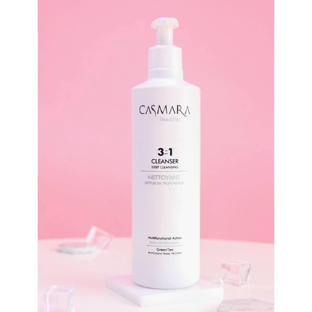 đối tượng sử dụng sữa rửa mặt casmara 3 in 1