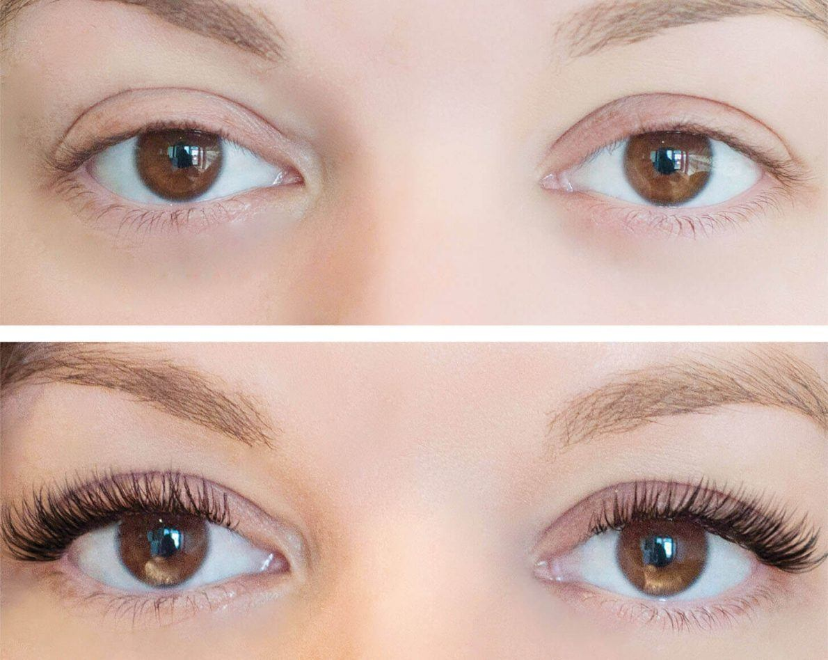 hiệu quả tinh chất dưỡng mi DHC Eyelash Tonic