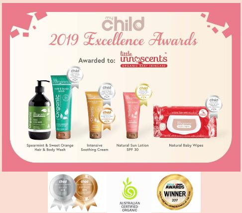 bình chọn giải thưởng cho thương hiệu innoscent